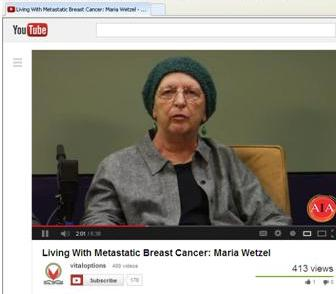 "Vital Options, ""Living with Metastatic Breast  Cancer"""