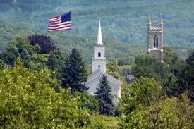 Newtown flagpole