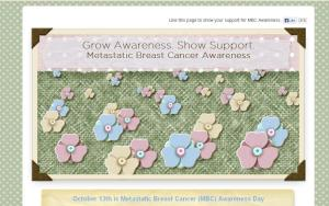 Grow Awareness of Metastatic Breast Cancer