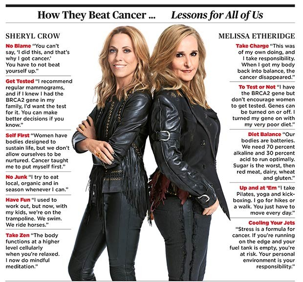 Sheryl Crow and Melissa Etheridge