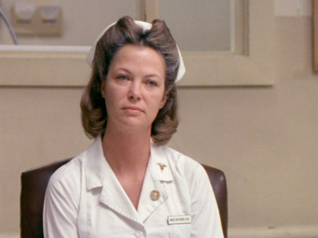 "Nurse Ratched from ""One Flew Over the Cuckoo's Nest"""